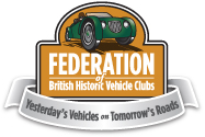 federation historic vehicle club logo 2